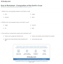 print the earth s crust facts layers rature position worksheet