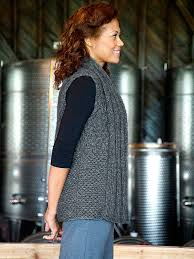 Free Knitted Vest Patterns Best Perdido Berroco