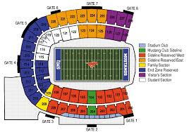 Ford Stadium Seating Chart 48 High Quality Smu Football Stadium Seating Chart