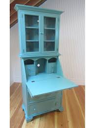 country classics collection secretary desk cottage teal
