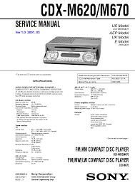 sony str h2900 h3900 sm service manual schematics sony cdx m620 sm