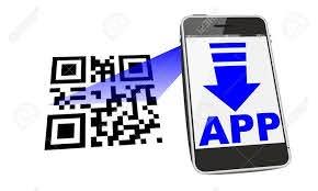 Smartphone App Download With QR Code ...