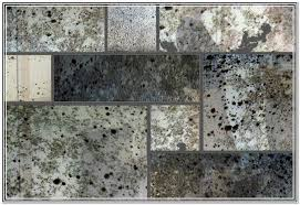 mercury glass mirror panels