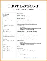 Resume Formates Beauteous Types Of Resume Format Different Resume Templates Different Resume