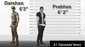 Kannada Actors Height Chart Darshan Height Sudeep Yash Shivanna V S Darshan Boss