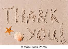 Summer Thank You Sand Writing Pray Pray Written In Sand With Shell Accent