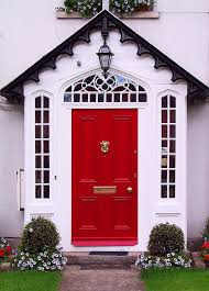 Great Front Door Colors That Bring Cheerful Exterior House Designs