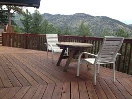 eco friendly diy deck. Restored Deck With Eco-friendly Boodge Decking Stain In Dark Cedar . Eco Friendly Diy L