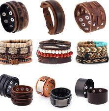 top 10 most popular <b>genuine leather</b> double wristband list and get ...