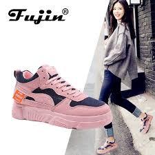 <b>FUJIN Brand 2019</b> Fashion Women Shoes Women Sneakers ...