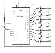 arduino bargraph circuit