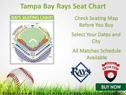 Rays Seating Chart Tampa Bay Rays Season Tickets