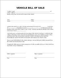 Automobile Bill Of Sale Form Bill Of Sale Form Template Motor Vehicle Bill Sale Form