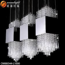 incredible long chandelier lighting hot modern crystal for stainless steel designs 17