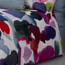 bluebellgray abstract duvet cover single 135x200cm at dotmaison