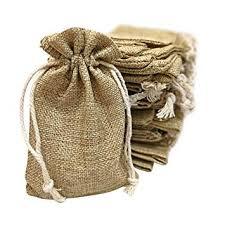 Small burlap bags Wholesale 50 Small Burlap Bags With Drawstring 4x6 Inch Gift Bag Bulk Pack Wedding Party Amazoncom Amazoncom 50 Small Burlap Bags With Drawstring 4x6 Inch Gift Bag