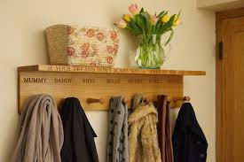 Personalised Coat Rack Personalised wooden coat hooks MakeMeSomethingSpecial 73