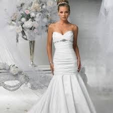 strapless mermaid beach wedding dresses