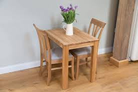 Cool Ideas Small 2 Seater Dining Table Revealing Kitchen Solid Oak