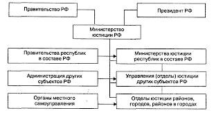 Реферат Министерство юстиции РФ и его органы com  Министерство юстиции РФ и его органы