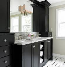 elegant black wooden bathroom cabinet. bathroom designs with black cabinets elegant vanity design in transitional interior applied wooden cabinet