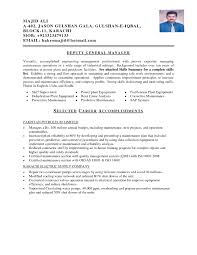 Mechanical Maintenance Resume Sample Collection Of Solutions Maintenance Resume Brilliant Mechanical 4
