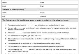 Document Template : Free Tenancy Agreement Template Word Create ...