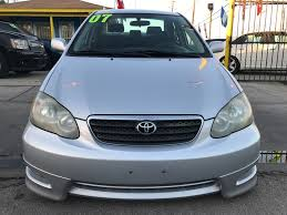 2007 TOYOTA COROLLA S for sale in Houston, TX 77011