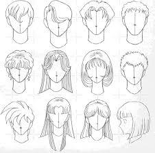 Resultado de imagen para como dibujar cabello