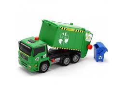 товар для детей <b>Dickie</b> AirPump <b>Мусоровоз</b> с <b>контейнером</b>, 31 см