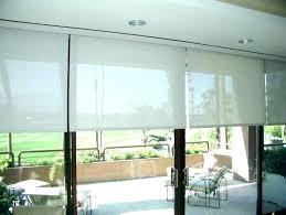 roman shade for door sliding glass door shades roman shades for sliding glass doors shades for