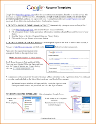 Resume Builder Google Resume Templates Google Resume Templates