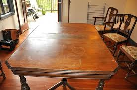 refinished dining room table refinishing dining table without sanding refinish dining room table cost