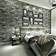 cozy brick wallpaper bedroom brick