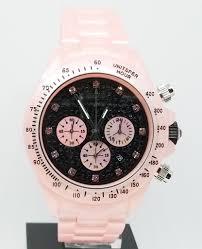 Toy Designer Watch Toy Watch Fluo Plasteramic Pink Ladies Watch With Black Dial Fld09bklp