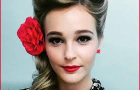 1940 s 50 s pinup hair and makeup images below pin up hairstyles for long hair pictures 273323 rockabilly hairstyles for long hair pinup pinp