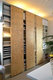 diy sliding closet doors ideas door track update