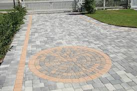 Circular Paving Patterns Simple Decoration