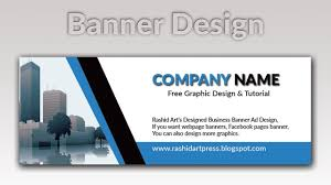 Business Banner Design How To Make Business Banner Design In Photoshop Cs 6 Youtube