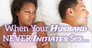 Husband does not initiate sex