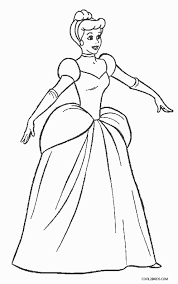 You can read more info on disney here. Free Printable Cinderella Coloring Pages For Kids