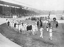 Олимпийское движение и политический протест Википедия Сборная Великобритании во время открытия iv Олимпиады 1908