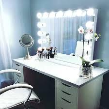 makeup vanity table with lights makeup vanity table with lights white set desk up makeup vanity