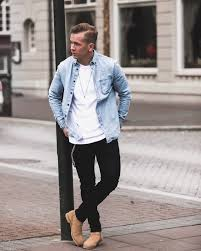 The clarks clarkdale is a great choice for every day casual style. 40 Casual Winter Work Outfit Ideas Featuring Men S Boots