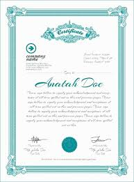 Free Certificate Template Pages Certificate Elegant Mac Pages Gift