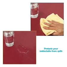 clear vinyl table protector clear vinyl tablecloth cover table cloth protector x inch thick plastic transpa