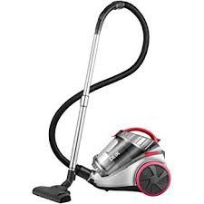deik cylinder vacuum cleaner bagless vacuum cleaner 18kpa powerful suction 800w 4 se filtration system 7 5m working radius grey pink