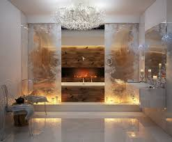 Luxury Bathrooms With Astonishing Fireplaces - Luxury bathrooms pictures