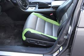 this project we are fixing the front seats of this acura tl leather repair and dying of the leather