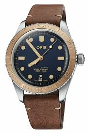 oris diver 65 blue dial brown leather strap mens watch for 1 796 for from a er on chrono24